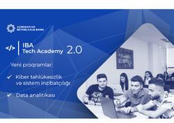 IBA Tech Akademiyasına daha iki proqram üzrə qəbul başlandı