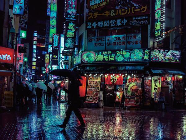 Gecə Tokiosu - FOTO