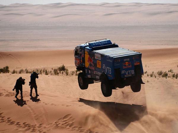 Dakar rallısindən FOTOlar