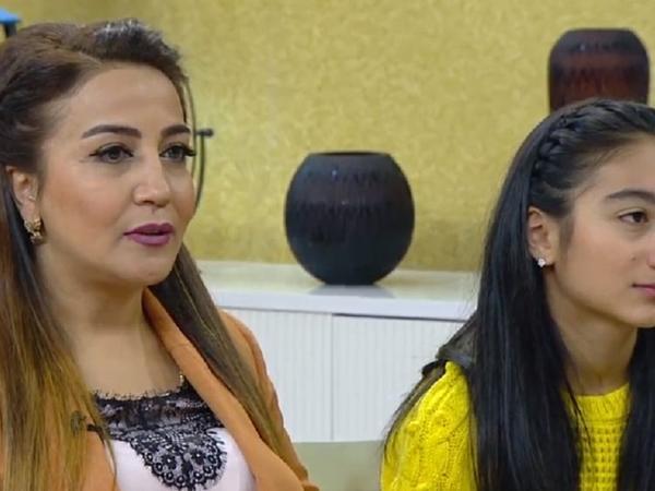 Xalq artisti ilk dəfə qızı ilə efirdə - FOTO