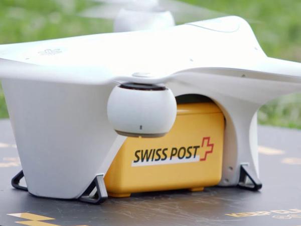 """""""Swiss Post"""" məktub və tibbi analizlərin dronlarla çatdırılması xidmətini bərpa edib"""