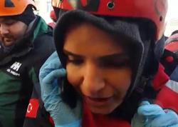 Türkiyə 8 nəfəri xilas edən bu qadından danışır - VİDEO