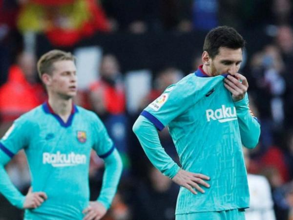 Messi şəxsi antirekordunu təkrarladı