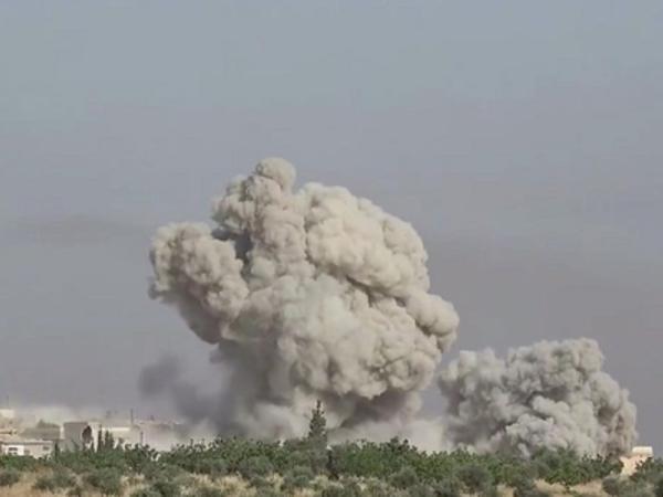 Suriya ordusu Hələbin qərbində silahlı qruplaşmalara artilleriya zərbələri endirib