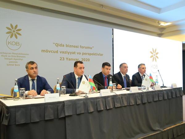 KOBİA yanında İctimai Şuranın forumu qida biznesinə həsr olunub - FOTO