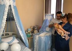 Azərbaycanlı müğənninin oğlu oldu - FOTO