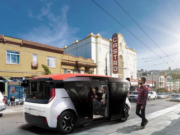 """İlk """"General Motors"""" sürücüsüz elektromobili nümayiş olunub"""