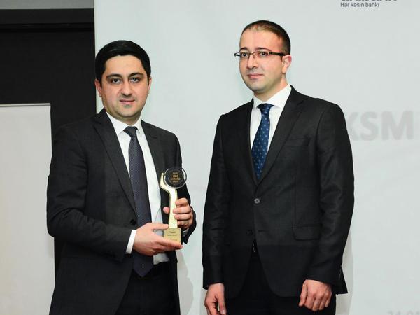 Unibank daha bir KSM mükafatı aldı