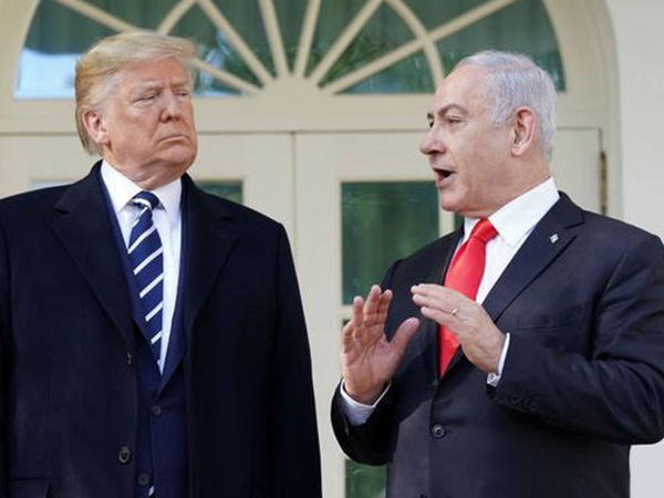 Tramp Netanyahu ilə Yaxın Şərq Sülh planının detallarını açıqlayıb