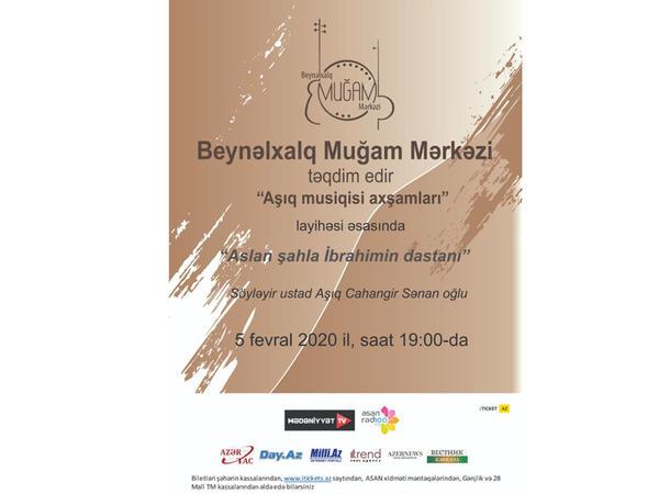 """""""Aşıq musiqisi axşamları"""" layihəsi davam edir"""