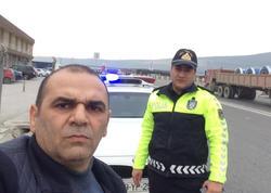 """""""Yol polisi məni saxladı, kim olduğumu biləndən sonra geri çəkilib, əsgər salamı verdi"""" - FOTO"""
