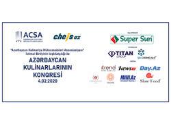 Azərbaycan Kulinarları Konqresə toplanır