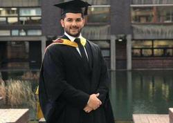 """Bu il """"London City"""" Universitetini qırmızı diplomla bitirən yeganə azərbaycanlı Tofiq Seyidov kimdir? - VİDEO - FOTO"""