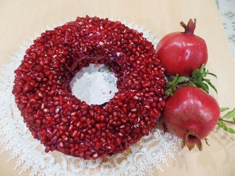 Nar salatının hazırlanması - Usta öz sirlərini açır