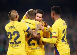 Messi 19 yaşlı Sançoya çatdı