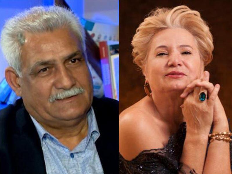 Nurəddin Mehdixanlının Şükufə Yusupova ilə 30 il əvvəlki ...