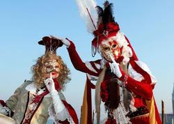 Venesiyada ənənəvi karnaval - FOTO