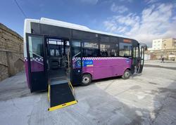 """Daha bir marşrut xətti üzrə avtobuslar yenilənir - <span class=""""color_red"""">FOTO</span>"""