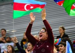 """Batut gimnastikası və tamblinq üzrə Dünya Kubokunda tamaşaçıların emosiyaları - <span class=""""color_red"""">FOTO</span>"""