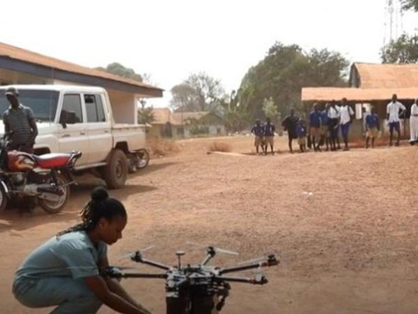 Qərbi Afrikada ilk dron dəhlizi açılıb