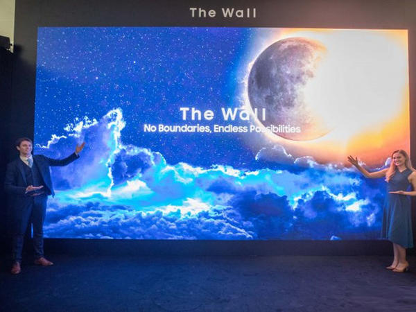 """Samsung The Wall"" modul ekranlarının yeni versiyası buraxılıb"