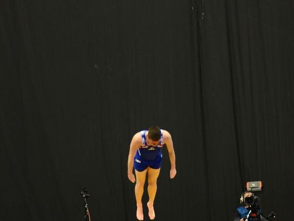 Bakıda batut gimnastikası və tamblinq üzrə Dünya Kubokunda final yarışları davam edir - FOTOREPORTAJ
