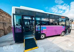 Bakıda daha bir marşruta yeni avtobuslar verildi - FOTO