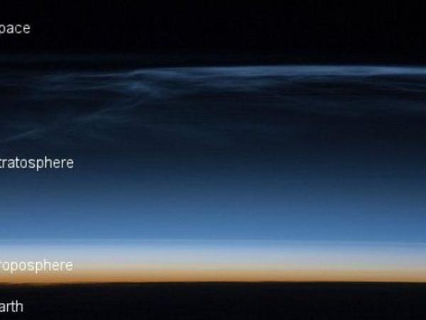 NASA ən hündürdə olan buludların şəkillərini nümayiş etdirib - FOTO