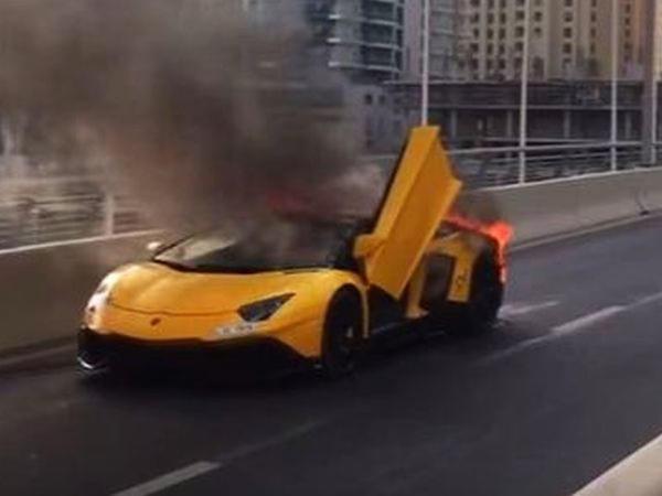 "Toy kortejində olan &quot;Lamborghini&quot; külə döndü - <span class=""color_red"">VİDEO</span>"