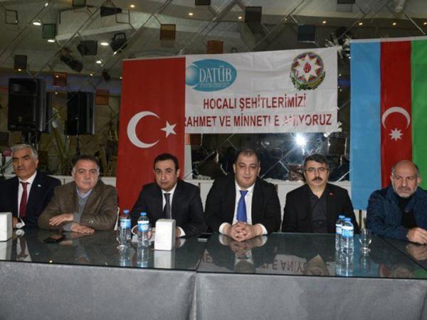 Türkiyədə Xocalı soyqırımının qurbanlarının xatirəsi anıldı - FOTO