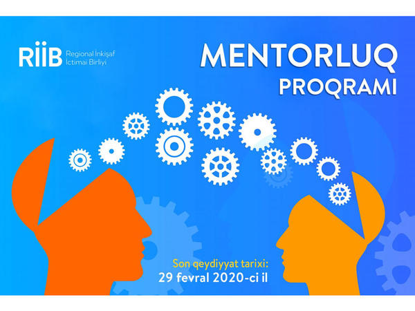 RİİB könüllülər üçün mentorluq fəaliyyətinə dair layihə həyata keçirir