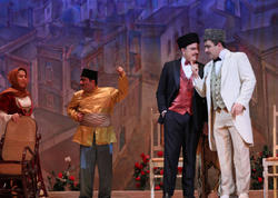 """""""Arşın mal alan"""" operettası anşlaqla keçib - VİDEO - FOTO"""