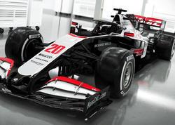 Haas F1 Team komandası yeni avtomobilini nümayiş etdirib - FOTO