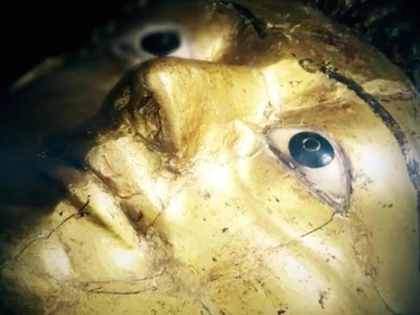 Misir mumiyalarının qızıl maskaları ABŞ-da nümayiş etdirilir