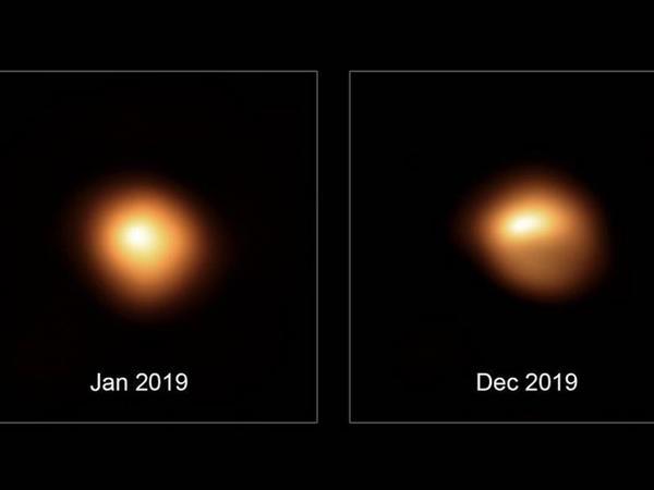 Bətəlqeyzə ulduzunun yeni fotoları astronomları araşdırmalara sövq edib