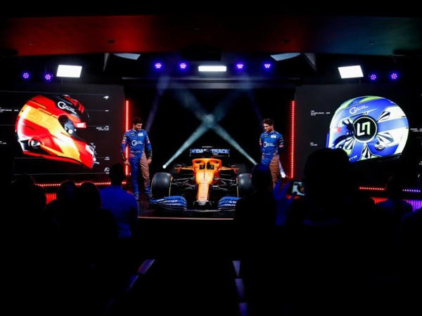 McLaren yeni bolidini təqdim edib - FOTO
