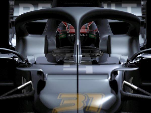 Renault komandası yeni bolidini qeyri-adi üsulla təqdim edib - FOTO