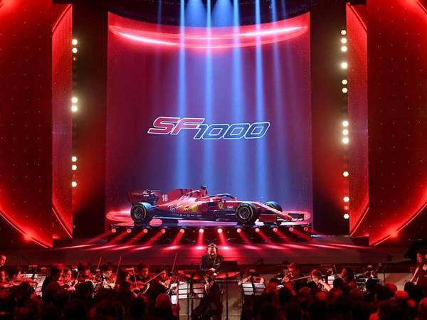 Scuderia Ferrari yeni bolidini SF1000 adlandırıb - FOTO
