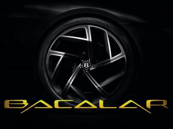 Bentley şirkəti kolleksiya barkettasının adını açıqlayıb - FOTO
