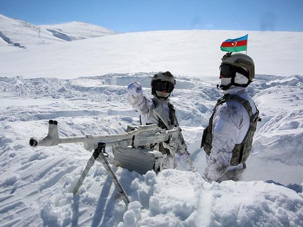 Naxçıvan Qarnizonu Qoşunlarında taktiki-xüsusi təlim keçirilib - FOTO - VİDEO