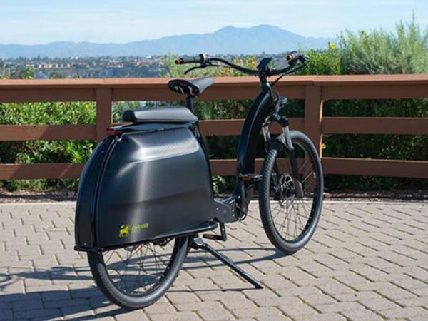 Yük daşımağa yararlı elektrikli velosiped