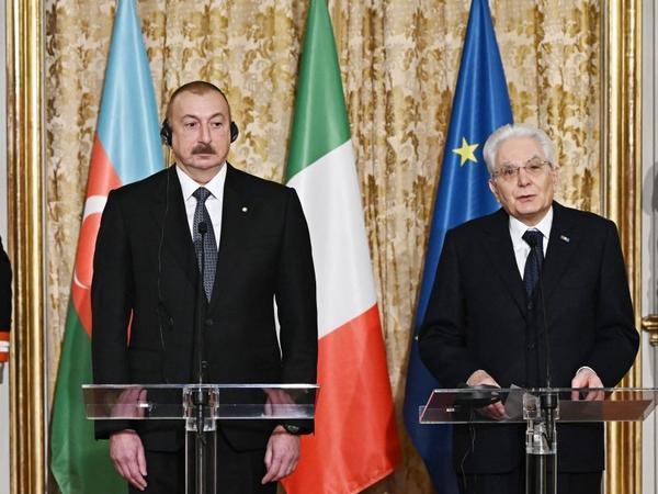 """Sercio Mattarella: """"2020-ci il İtaliyada """"Azərbaycan ili"""" elan olunub"""""""