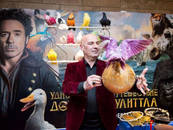 """CinemaPlus-da """"Doktor Dulittlin heyrətamiz səyahəti"""" - FOTO"""