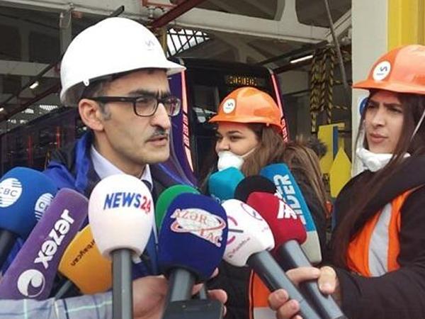 Bakı metrosuna yeni vaqonlar gətirilir