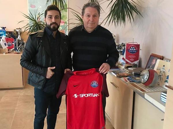 Azərbaycanlı futbolçu Estoniya klubuna transfer oldu