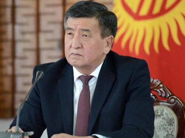 Sooronbay Jeenbekov Prezident İlham Əliyevi təbrik edib