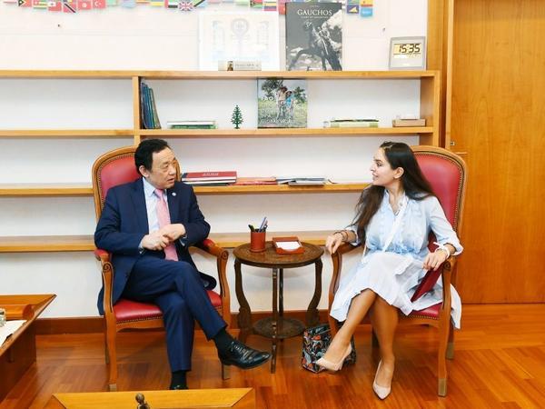 Heydər Əliyev Fondunun vitse-prezidenti Leyla Əliyeva Romada FAO-nun yeni baş direktoru ilə görüşüb - FOTO