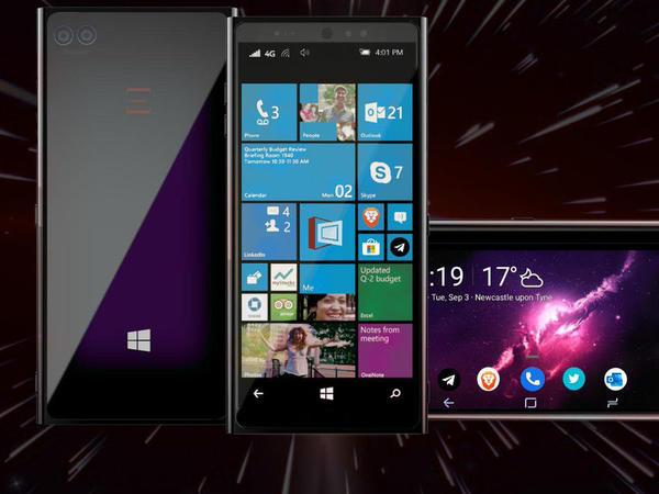"""Eyni anda həm Windows, həm də Android işlədən telefon - <span class=""""color_red"""">Nebulus</span>"""
