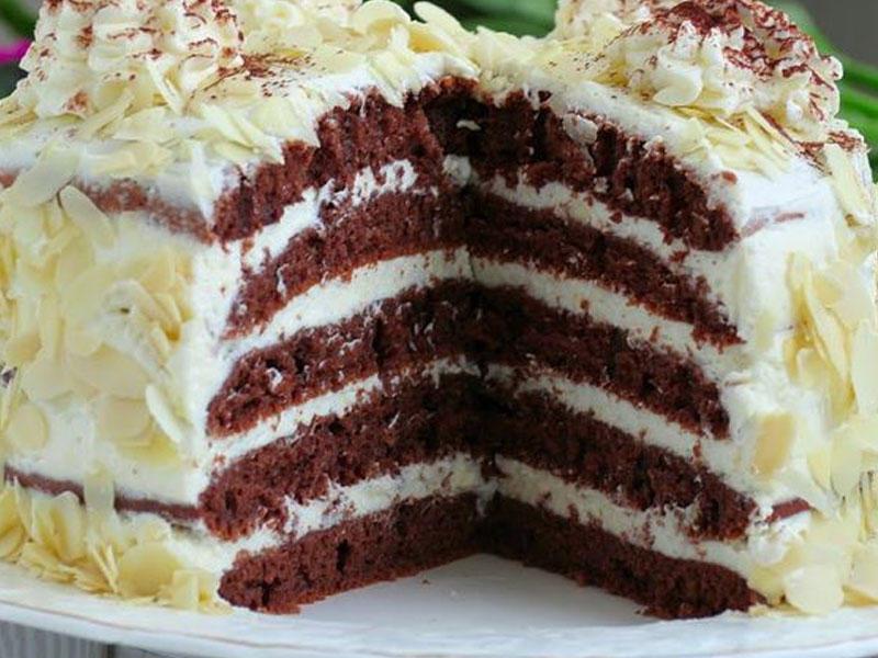 Tavada hazırlanan yumşaq tort - Usta öz sirlərini açır