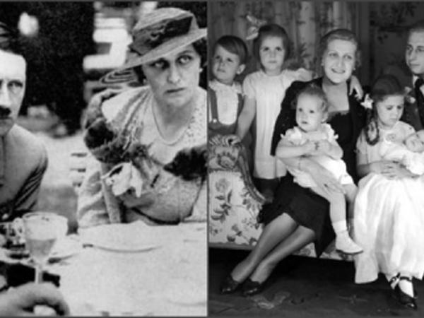 Hitlerə görə 6 övladını öldürdükdən sonra əri ilə birlikdə intihar edən qadın... - FOTO